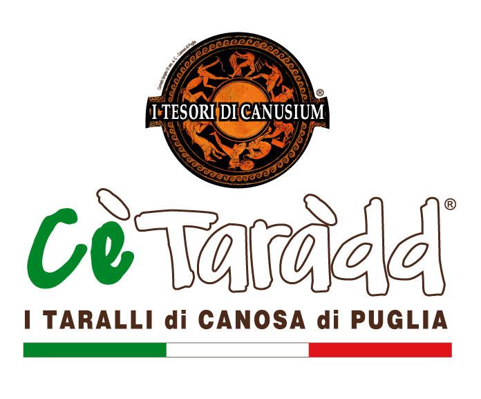 LOGO I TESORI + CE'TARADD Taralli